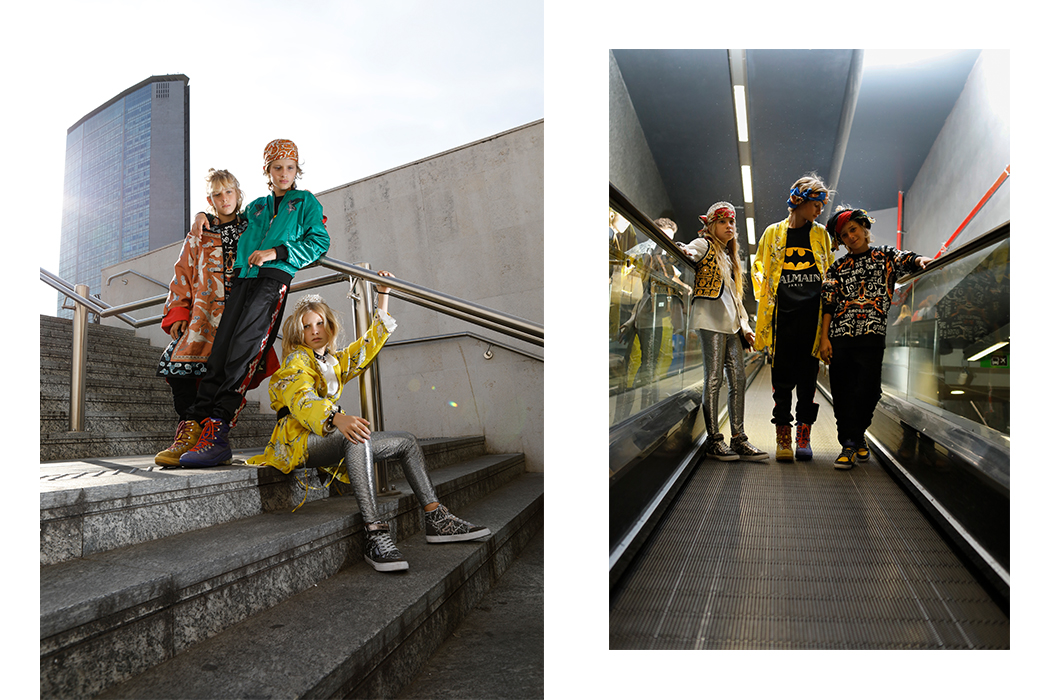 Editorial: Metro By Annarella Caruso #kidsfashion #annarellacaruso