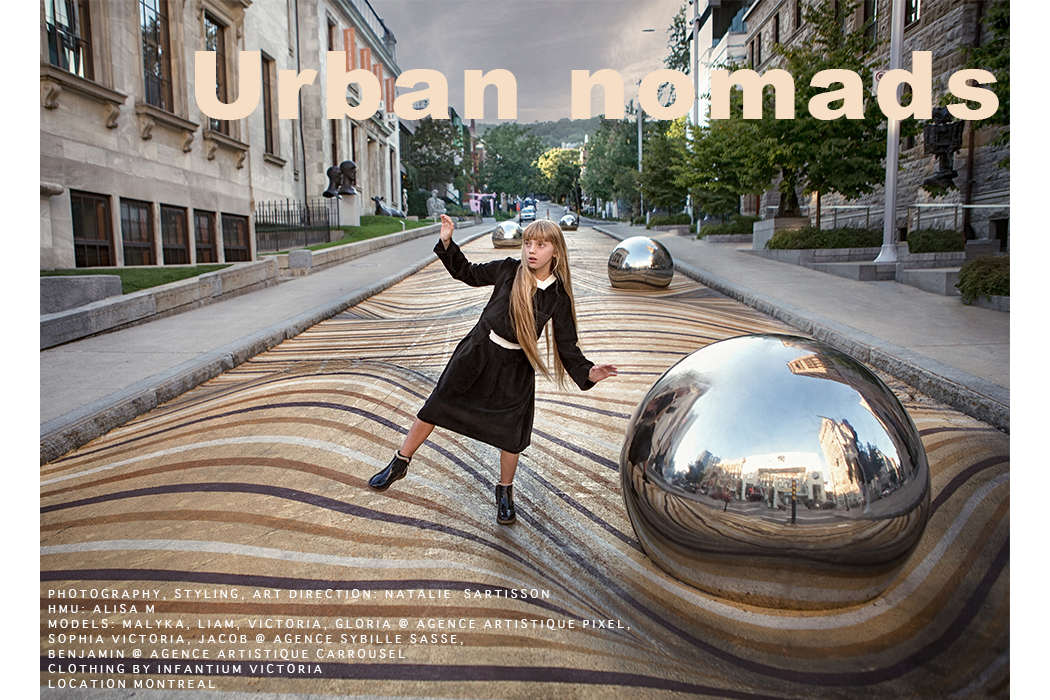 Editorial: Urban Nomads by Natalie Sartisson