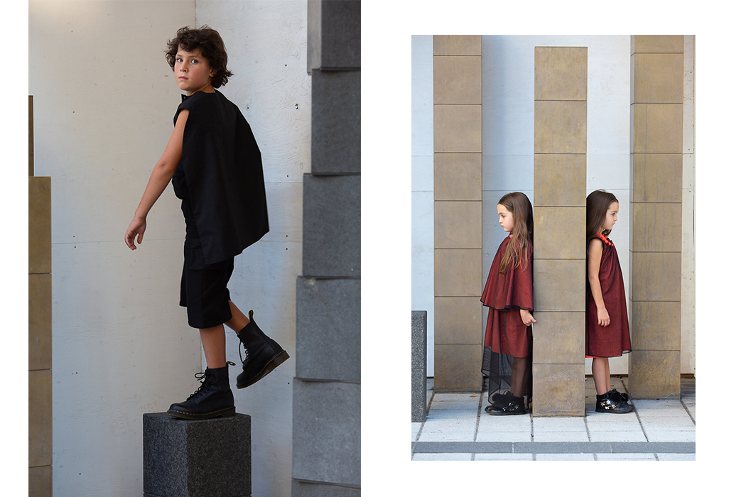 Editorial: Urban Nomads by Natalie Sartisson #nataliesartisson #infantiumvictoria #veganfashion #kidsfashion #ethicalfashion #sustainablefashion