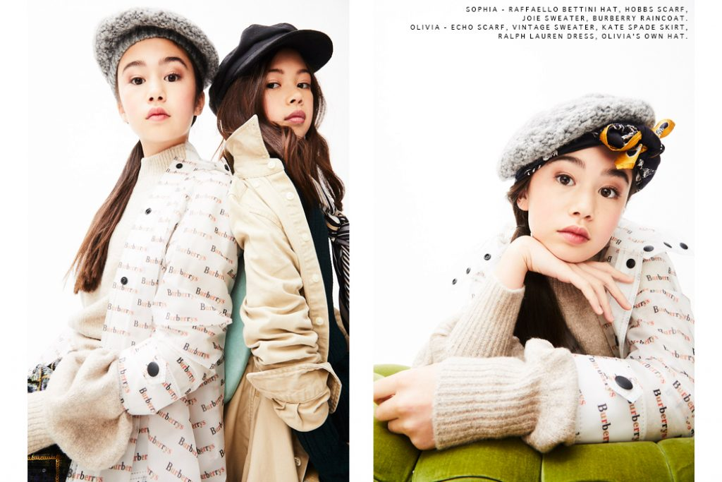 Big Sister Little Sister By Nick Steever #editorial #juniorstyle #kidswear #nicksteever #sisters