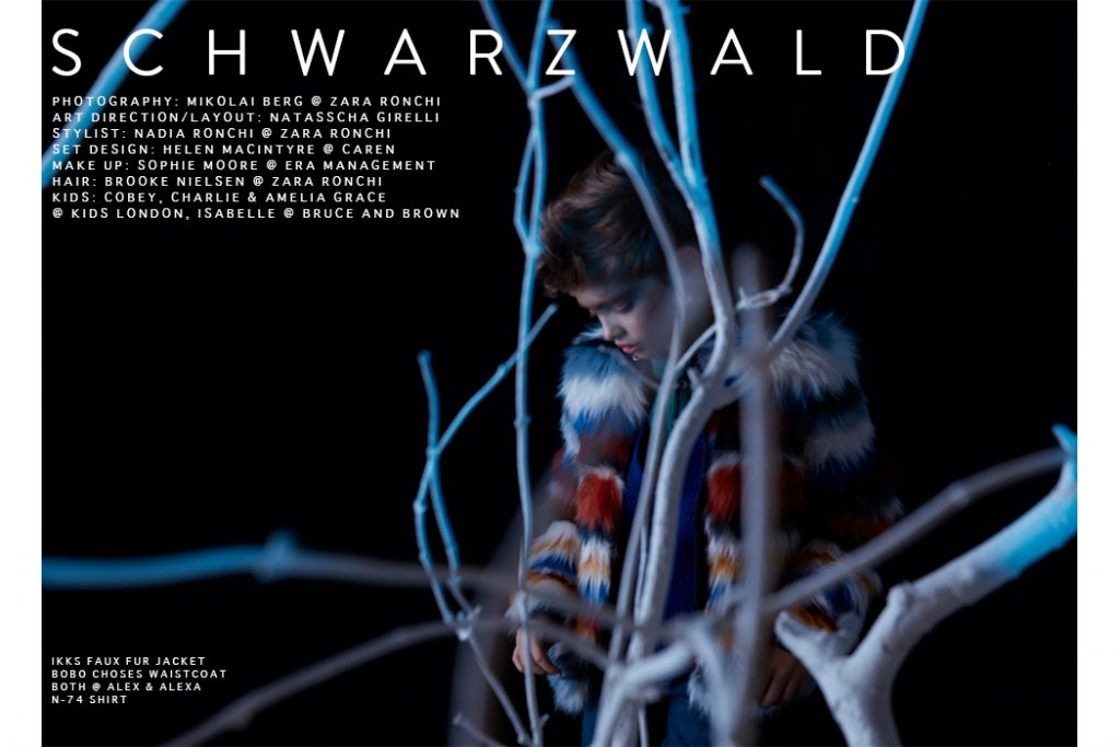 Editorial: SCHWARZWALD By Mikolai Berg