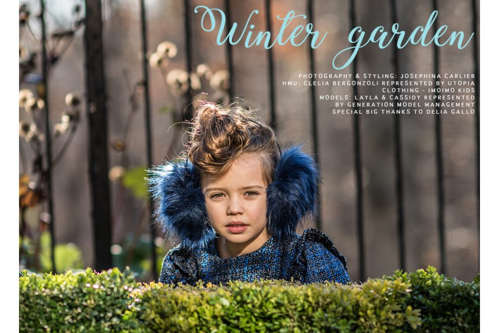 Editorial: Winter Garden By Josephina Carlier