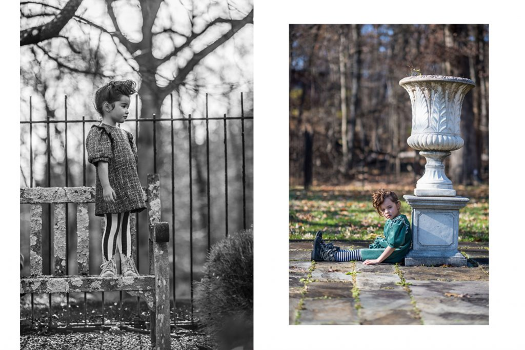 Editorial: Winter Garden By Josephina Carlier featuring #imoimokids #josephinacarlier #kidseditorial