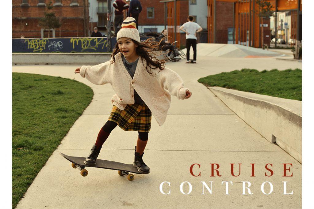 Anelia Alaudin: Cruise Control Skateboarding editorial