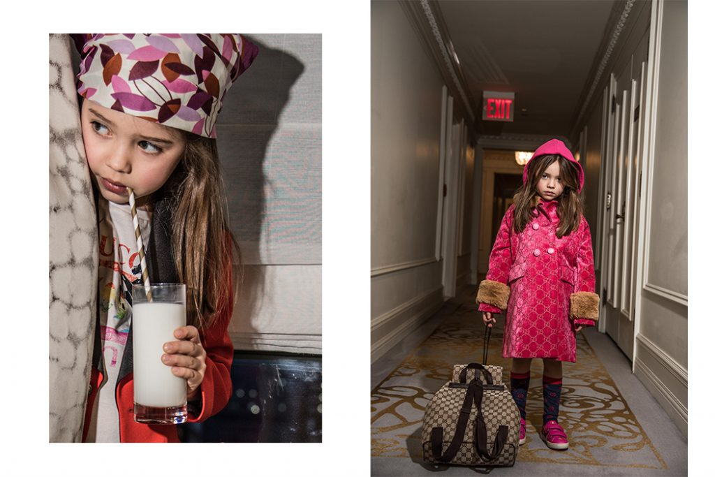 Editorial: Gucci Girl By Jospehina Carlier