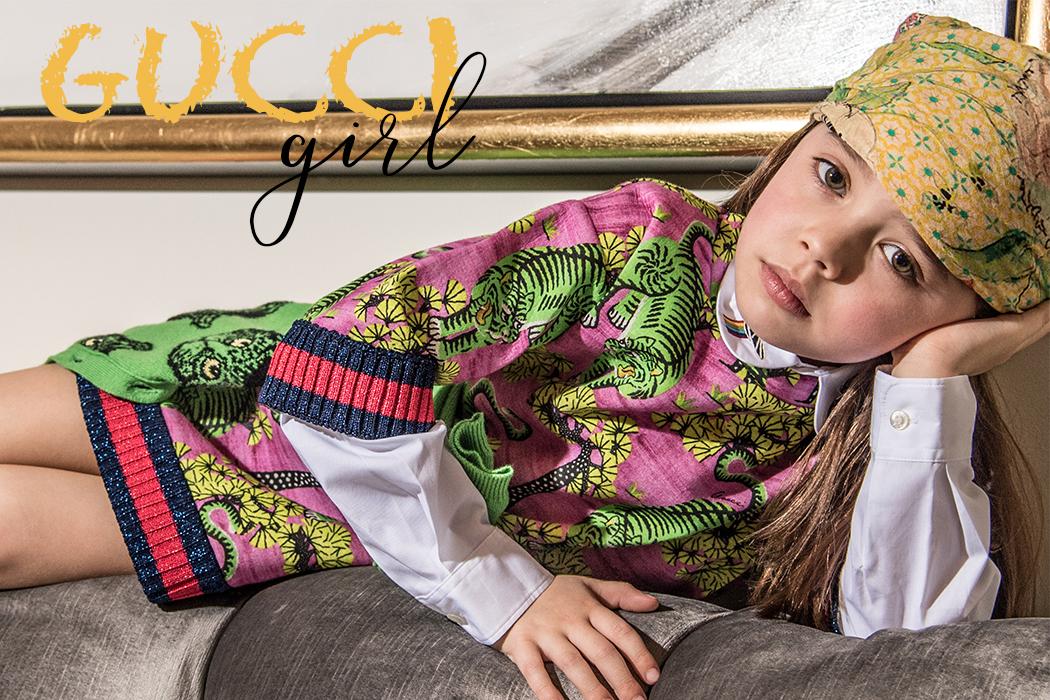 Editorial Gucci Girl By Jospehina Carlier