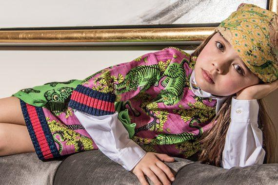 Editorial: Gucci Girl By Jospehina Carlier