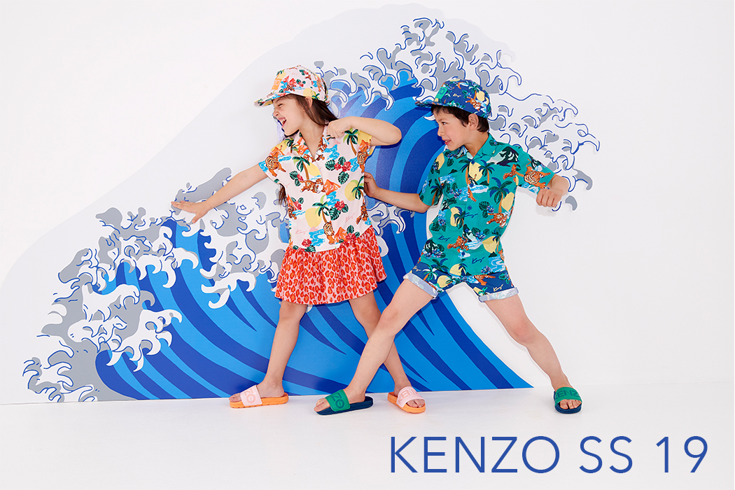 Step Into Spring with Kenzo Kids Collection