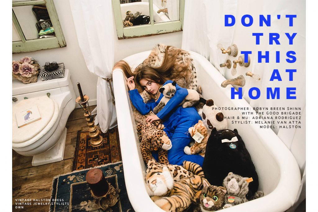 Don't Do This At Home Editorial by Robyn Breen Shinn