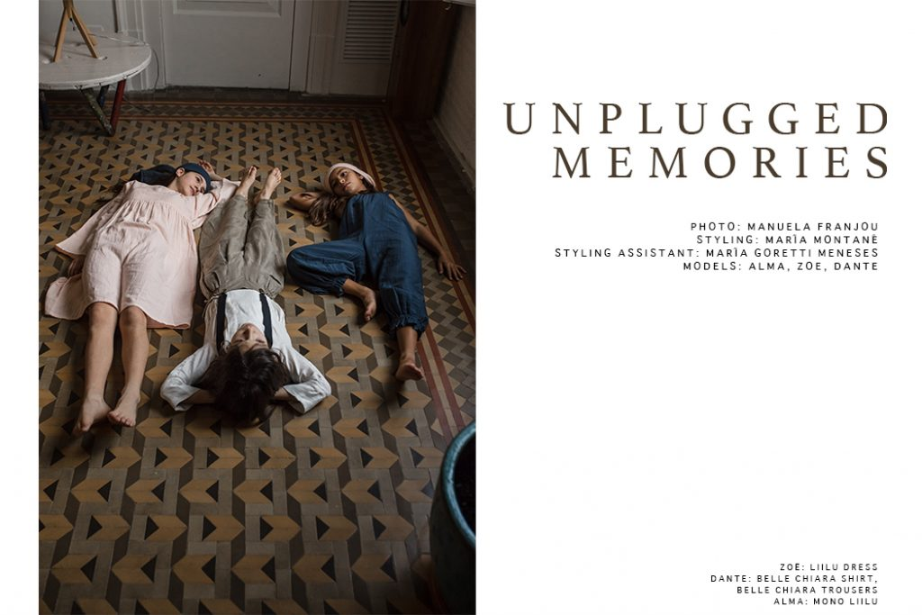 Editorial: Unplugged Memories