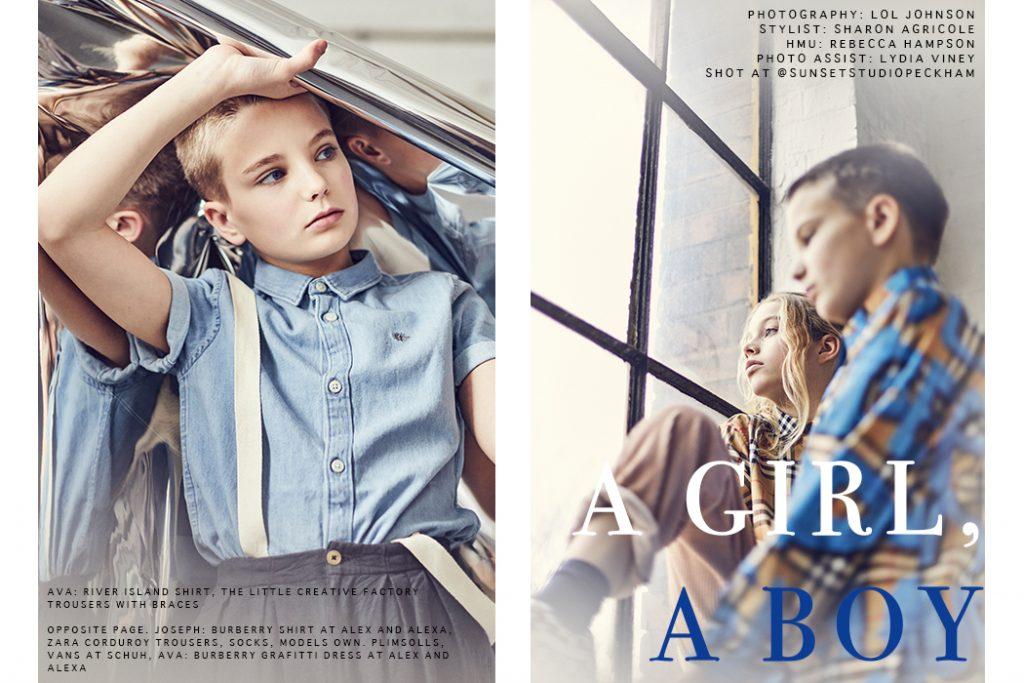 Editorial: A Boy, A Girl By Lol Johnson