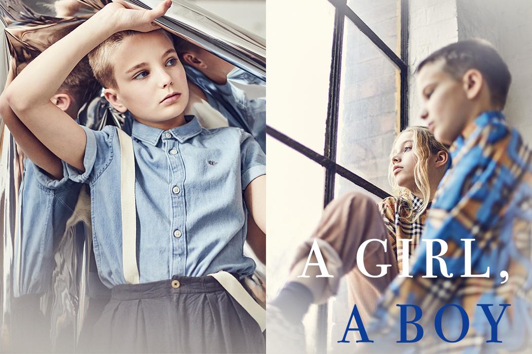 A Girl, A Boy By Lol Johnson