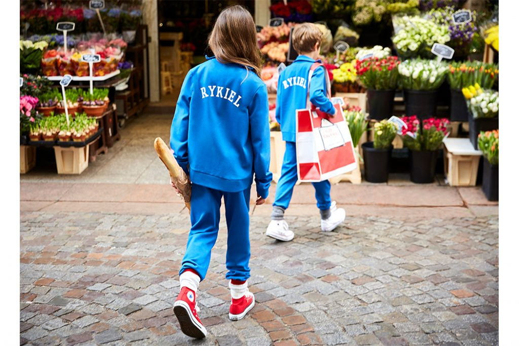 SONIA RYKIEL TAKES TO THE STREETS! A collaboration with Meljoe Paris Designer Kids Fashion Boutique