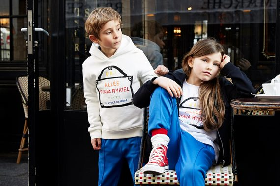 SONIA RYKIEL TAKES TO THE STREETS! A collaboration with Meljoe Paris Designer Kids Fashion Boutique