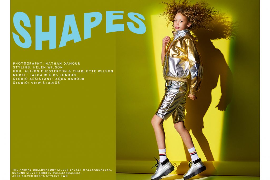 Editorial: Shapes By Nathan Damour