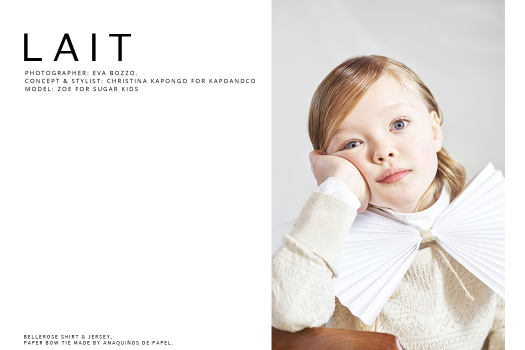 Editorial: Lait By Eva Bozzo