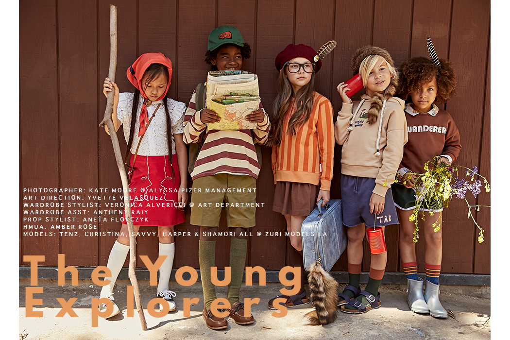 Editorial: Young Explorers By Kate Moore