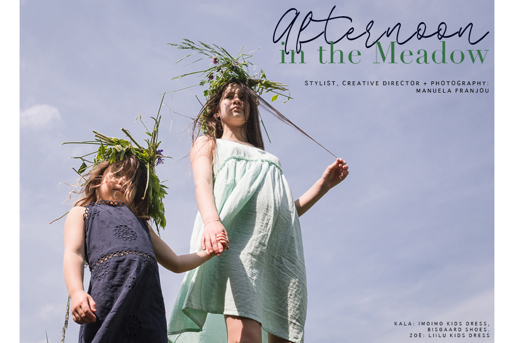 Editorial: Afternoon In The Meadow By Manuela Franjou