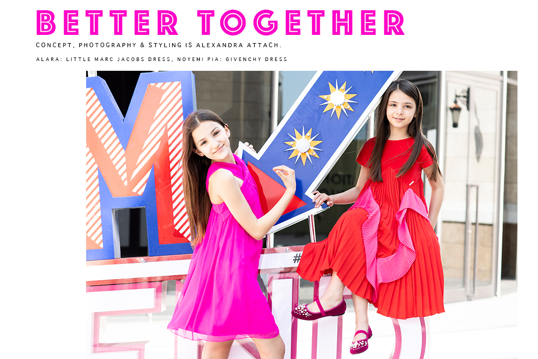 Editorial: Better Together By Alexandra Attach