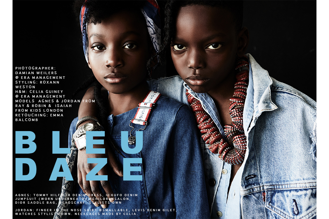 Editorial: Bleu Daze By Damian Weilers