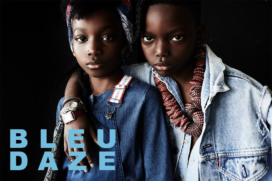 Editorial: Bleu Daze By Damian Weilers