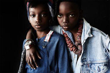 Editorial: Bleu Daze By Damian Weilers #denim #damianweilers #juniorstyle #kidseditorial