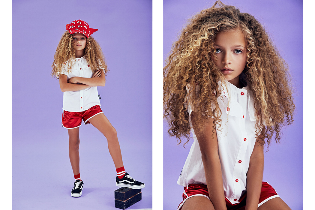 Chit Chat Tuesday With Kidswear Model Milana#loudapparel #kidswear #kidmodel #ontheblog #interview