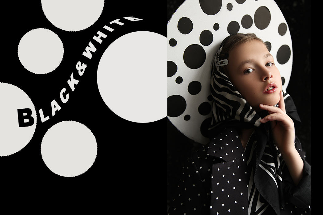 Black & White By Anastasia Shestakova