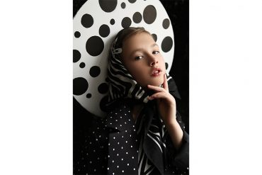 Editorial: Black & White By Anastasia Shestakova