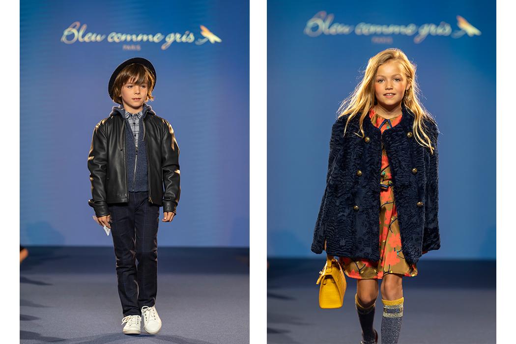 Bleu Comme Gris AW19 Fashion Show Highlights