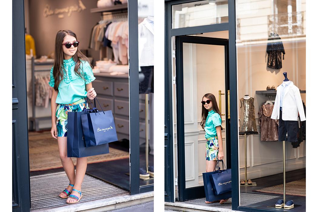 Noyemi Pia Reports on Bleu Comme Gris Fashion Show