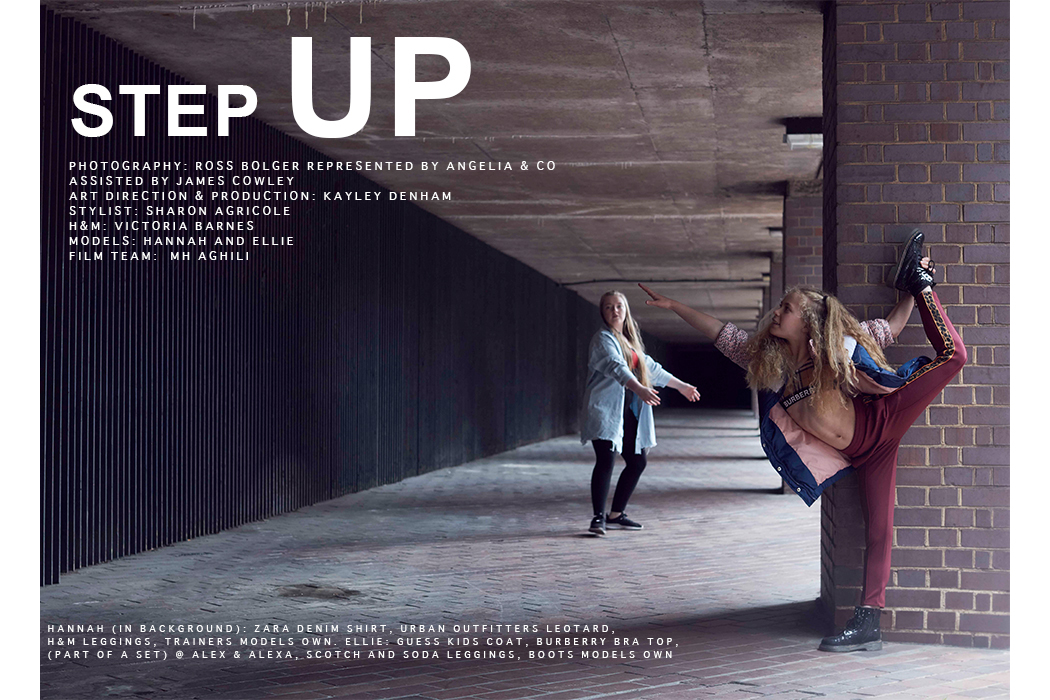 Editorial: Step UP By Ross Bolger