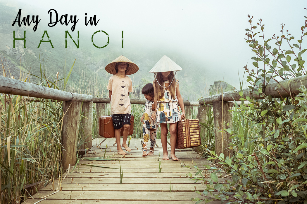 Any Day In Hanoi Featuring Mainio Clothing