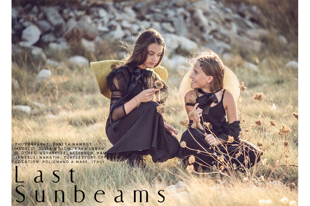 Editorial: Last Sunbeams By Zaneta Nawrot