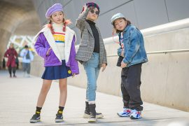Boys Street Fashion from Seoul Fashion Week #farfetch #kidsstreetstyle #streetstyle