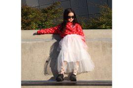 Seoul Street Style Featuring Kim Yoon Hee #kidsstyle #koreanfashion #streetstyle #kidsstreetstyle