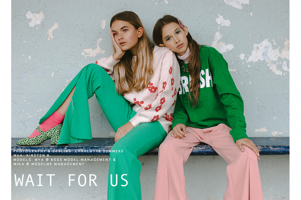 Editorial: Wait For Us By Charlotte Summers