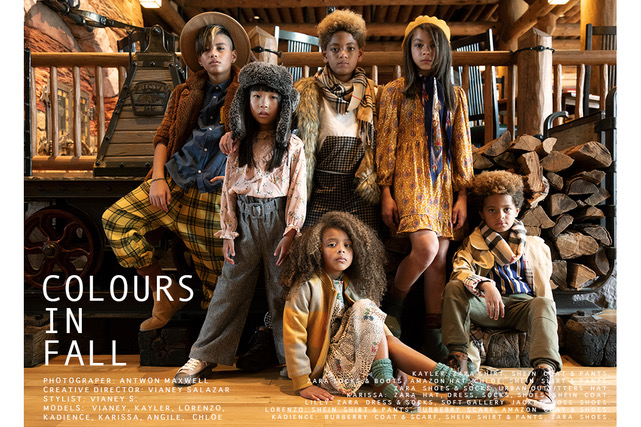 Editorial: Colours of Fall #kidsfashioneditorial #kidsfashion