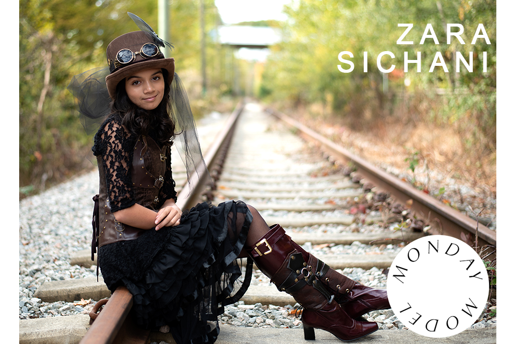 Monday Model Feature Zara Sichani #mondaymodel #model #feature #kidmodel