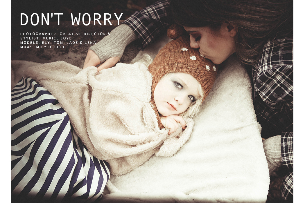 Editorial: Don't Worry by Muriel Joye #murieljoye #imoimokids #imoimogirls #kidswear #kidsfashion #childrensfashion #editorial #juniorstyle #juniorstylelondon