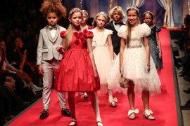 Monnalisa FW20 Exudes Italian Glamour - Kids Fashion Show, Pitti Bimbo 90, Pitti immagine