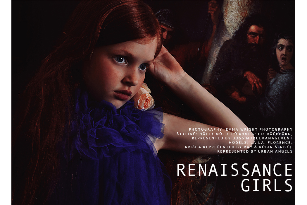 Editorial: Renaissance Girls