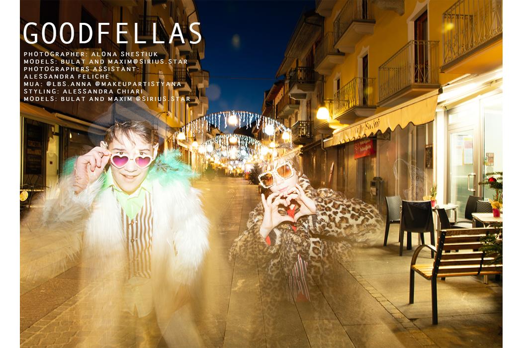 Alona Shesiuk: Goodfellas Editorial