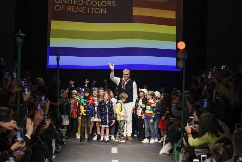 Benetton Kids Fashion brands against Coronavirus