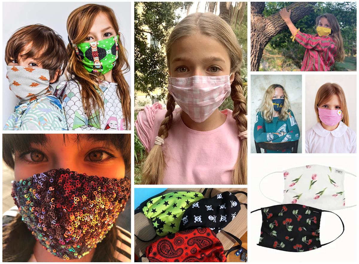 Cool kids face masks Spring Summer 2020