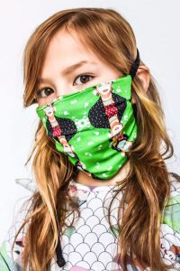 Cool kids face masks for girls by EFVVA