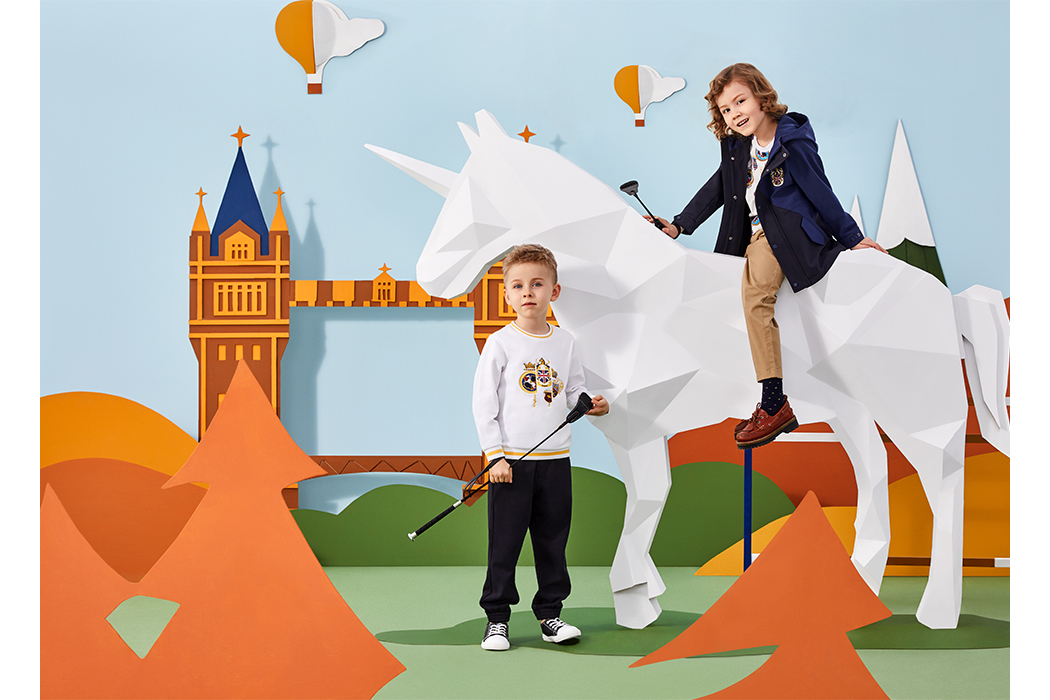 Kingkow Polo Kidswear line fit for Prince George