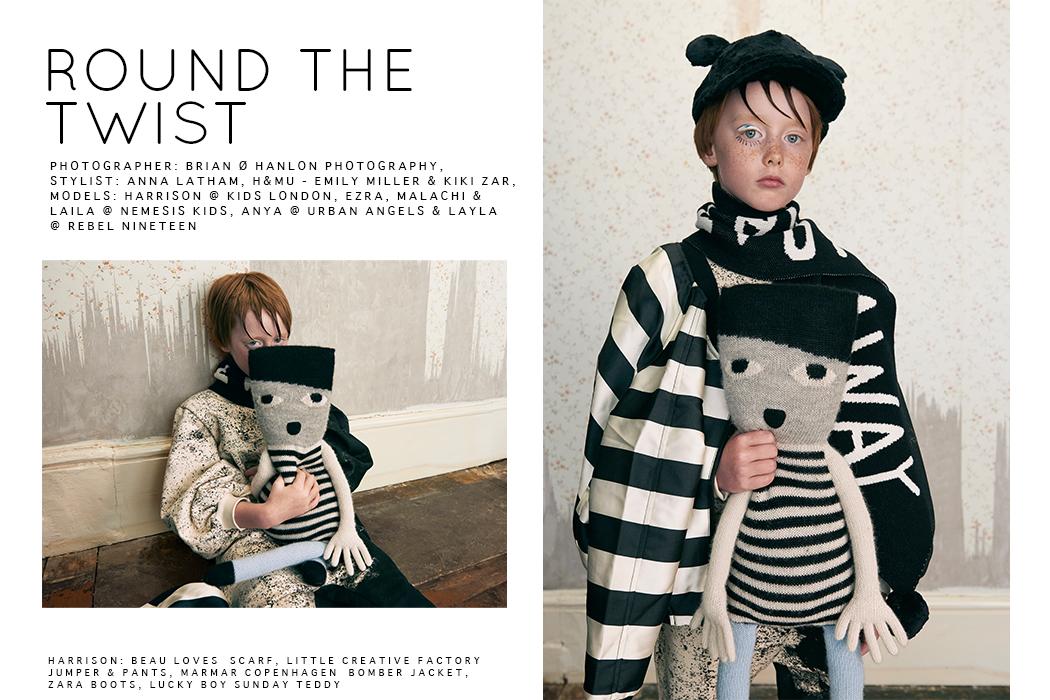 Halloween Editorial: Round The Twist