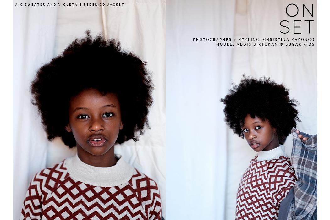 Editorial: On Set By Christina Kapongo