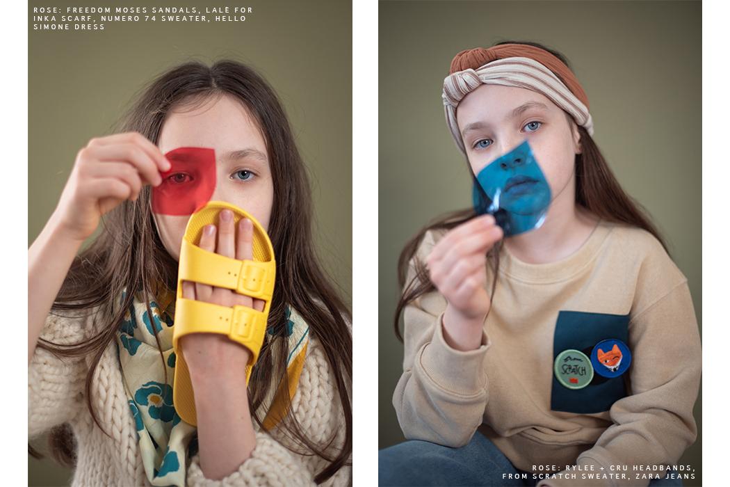 Editorial: The Eyeshadow by Emmanuelle Lhote